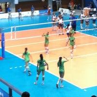 Foto tomada en Complejo Panamericano de Voleibol por Eva T. el 10/19/2011