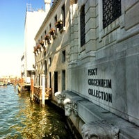 Photo taken at Collezione Peggy Guggenheim by Any S. on 8/1/2012