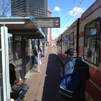 Photo taken at Tramhalte Station Hollands Spoor by Remco K. on 4/11/2012
