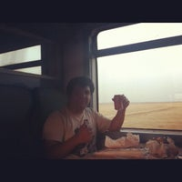 Photo taken at Train 611 Casablanca to Marrakech by Tono I. on 7/31/2012