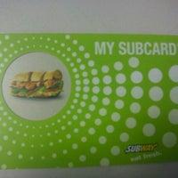 Photo taken at Subway by Tori K. on 9/30/2011