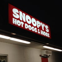 Photo taken at Snoopy's Hot Dogs & More by Sarah R. on 12/29/2011