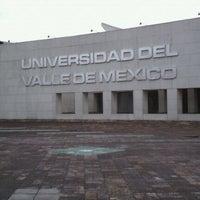 Photo taken at Universidad del Valle de México Campus Coyoacan by Ricardo M. on 8/27/2011