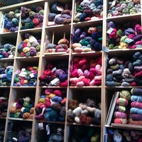 Photo taken at Lakeside Yarn by Betsy on 10/9/2011