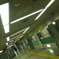 Photo taken at Midosuji Line Hommachi Station (M18) by jyami on 3/1/2011