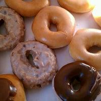Photo taken at Krispy Kreme Doughnuts by Samantha S. on 1/21/2012