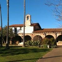 Photo taken at Mission San Juan Capistrano by Jesse L. on 1/27/2012