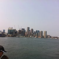 Photo taken at Boston Harbor Cruises by Katie K. on 8/17/2012