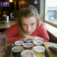 Photo taken at Silver Moon Brewing & Tap Room by Katie G. on 11/21/2011
