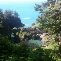 Photo taken at Natural Bridges Cove by Anna U. on 6/10/2011