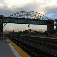 Photo taken at Metrolink Riverside-Downtown Station by Rachel W. on 9/23/2011