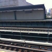Photo taken at MTA Subway - Rockaway Ave (3) by Michael R. on 6/9/2011