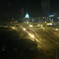 Photo taken at Capitol Skyline Hotel by Justin C. on 1/25/2012