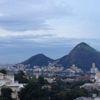 Photo taken at Alto Leblon by Bruno H. on 5/12/2012