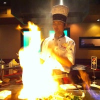 Photo taken at Kobe Japanese Steakhouse & Sushi Bar by Shay T. on 7/15/2012