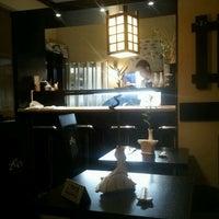 Photo taken at Sushi Garden by Alex C. on 1/27/2012