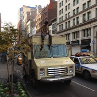 Photo taken at Van Leeuwen Ice Cream Truck - 23rd by Karolis on 11/14/2011