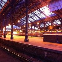Photo taken at Brighton Railway Station (BTN) by Alistair D. on 1/30/2011