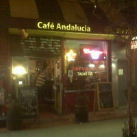 Photo taken at Cafe Andalucia by Prince M. on 4/27/2011