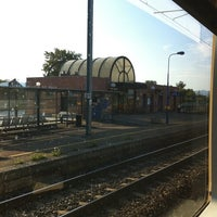 Photo taken at Gare SNCF de Bollwiller by Camille C. on 7/5/2011