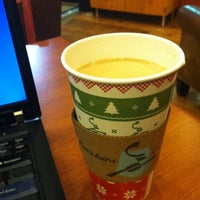 Photo taken at Caribou Coffee by stephen on 1/2/2012