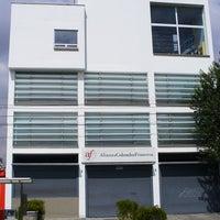 Photo taken at Alianza Colombo Francesa by Gilberto M. on 3/10/2012