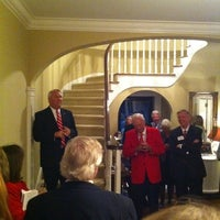Photo taken at NCSU - Chancellor's Residence by Chris A. on 9/16/2011