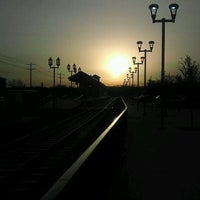 Photo taken at DCTA MedPark Station (A-train) by Cj P. on 1/24/2012