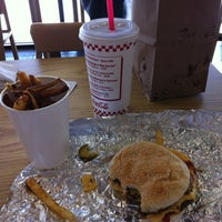 Photo taken at Five Guys by Lacey B. on 11/18/2011