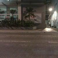 Photo taken at Menara HSBC by Ahmas Z. on 2/1/2012