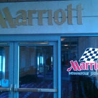 Photo taken at Indianapolis Marriott Downtown by Harrison P. on 12/3/2011