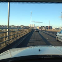 Photo taken at Redheugh Bridge by Lord Paul Anthony H. on 11/22/2011