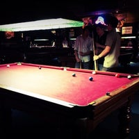 Photo taken at Ballroom Pool Hall by Karis C. on 3/3/2012