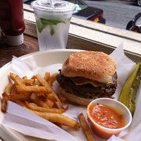Photo taken at Joy Burger Bar by Karin R. on 5/26/2011
