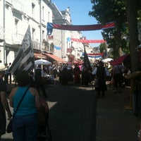 Photo taken at Place Saint-Pierre by Yoann M. on 7/2/2011