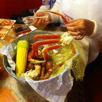 Photo taken at Joe's Crab Shack by Esteban E. on 1/22/2012