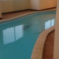 Photo taken at Swimming Pool @ Musheireb 1 by O.C W. on 4/30/2012