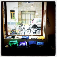 Photo taken at Ehrenfeld Apparel Flagship Store by Paul K. on 7/8/2011