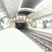 Photo taken at Metro Olivais [VM] by Hugo R. on 11/18/2011