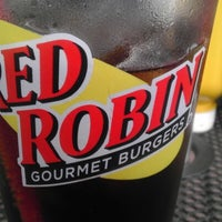 Photo taken at Red Robin Gourmet Burgers by Mike R. on 7/6/2012