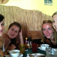 Photo taken at Pizzeria Leierov Dvor by Soni G. on 8/22/2012