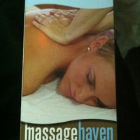 Photo taken at Massage Haven by Gina W. on 3/11/2012