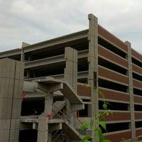Photo taken at UMass Albert Sherman Garage by Theo C. on 7/7/2012