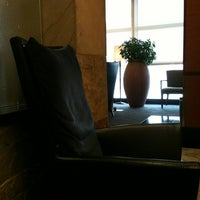 Photo taken at Delta Sky Club by Joshua P. on 1/25/2012