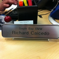 Photo taken at South Bay BMW by Dan G. on 9/6/2011