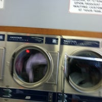 Photo taken at Fun Wash Laundromat by Monica C. on 3/23/2012