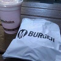Photo taken at M Burger by Jon J. on 8/25/2011