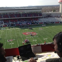 Photo taken at Houchens Industries-L.T. Smith Stadium by David R. on 12/2/2011