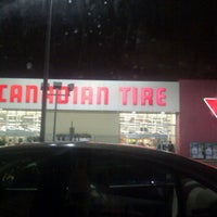 Photo taken at Canadian Tire by Denny M. on 11/29/2011