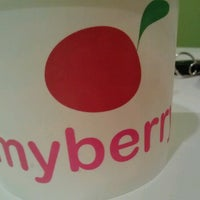 Photo taken at MyBerry Frozen Yogurt by Emily H. on 7/16/2012